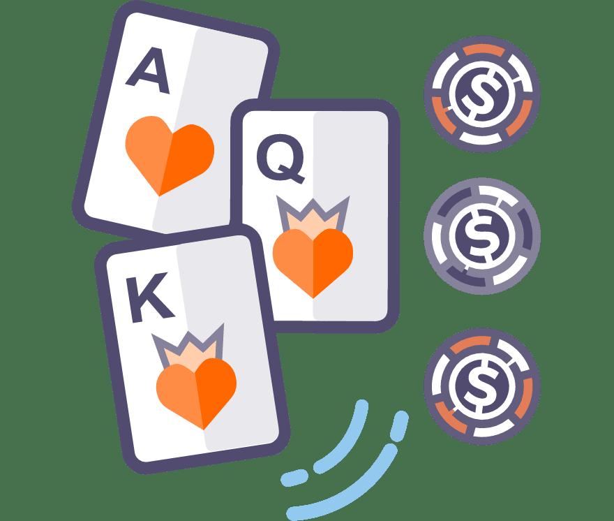 Los 65 mejores sitios de Casino de Póker de tres cartas en línea en Perú