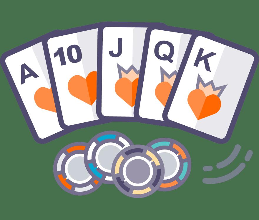 Los 62 mejores sitios de Casino de Texas Hold'em en línea en Perú